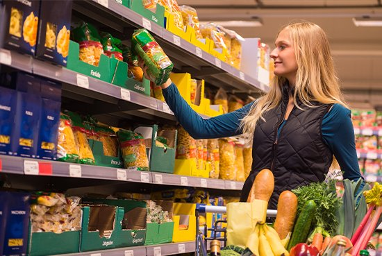 opakowania do produktów spożywczych